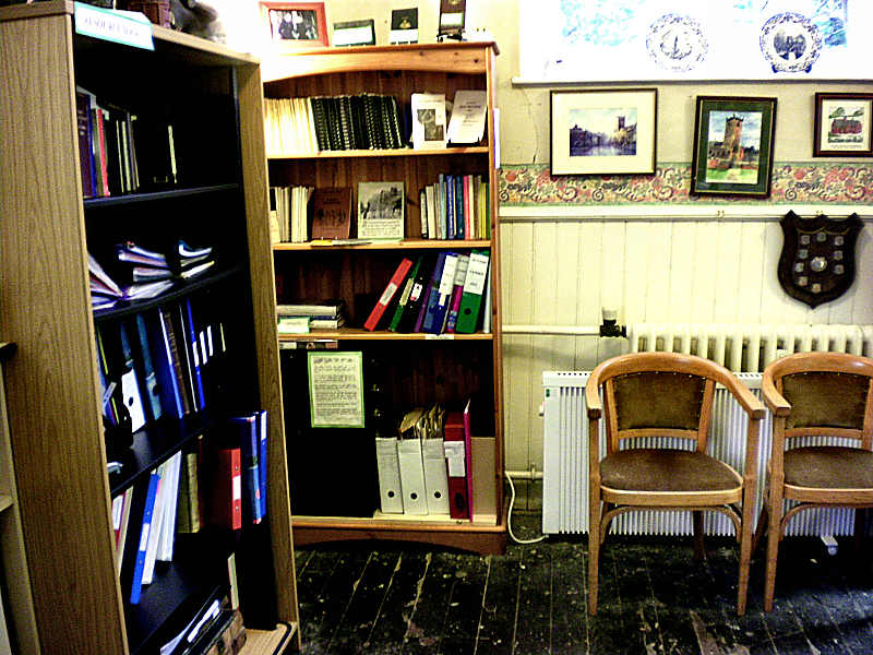 Another view of our Reference Library corner .. click to enlarge
