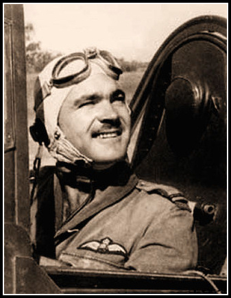 F/Lt Paterson Clarence Hughes DFC : 1923 - 1940