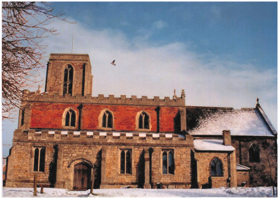 St Peter's, Wawne, England, from the South