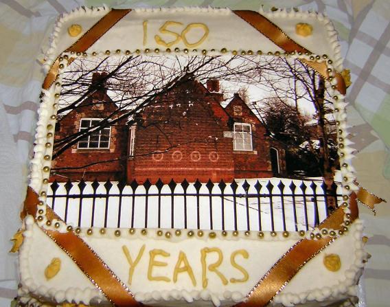 our 150th Anniversary cake in 2009