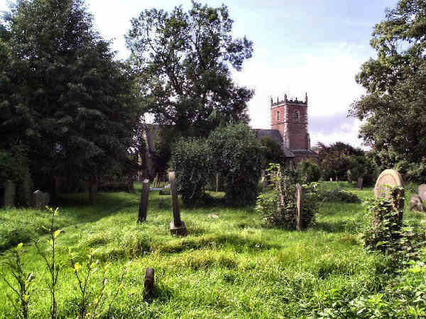 image of St James', Sutton on Hull, from the churchyard: taken 9 Sept 2006