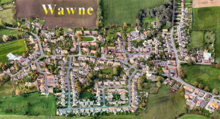 Click this image to view Inter-Active Image of Wawne - just click on a feature, like St Peter's church, Village Hall, etc - to take you to more information. Image courtesy of Bing Maps, Simmons & Getmapping Plc