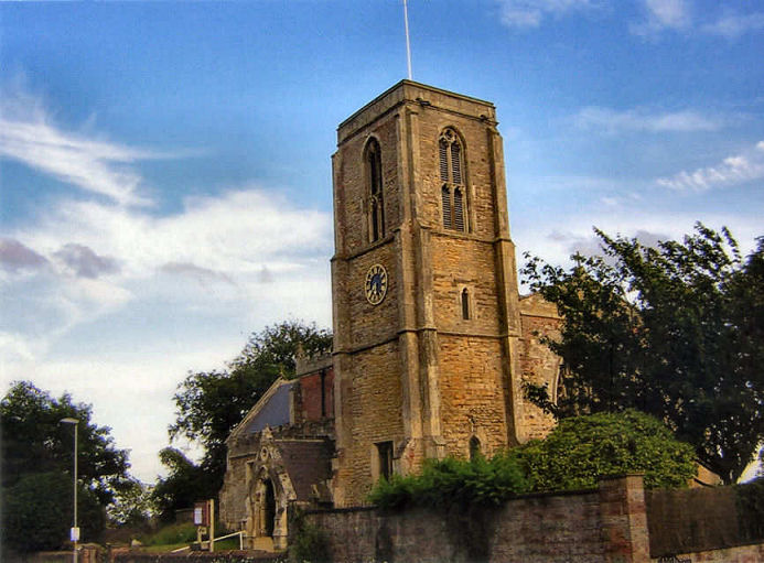 Postcode: HU7 5XA ::: click image to go to St Peter's, Wawne, also to a link to the new independant Wawne Village Website