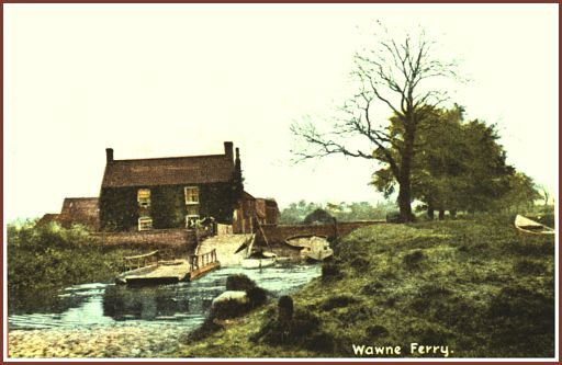 The old Wawne Ferry
