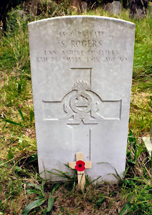 click the photo to go to the War Graves page